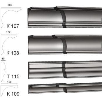 К-107,108,109,Т-115