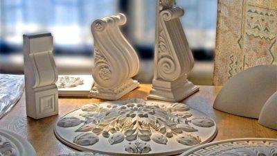 Гипсовые панели для декора в интерьере, монтаж по Крыму