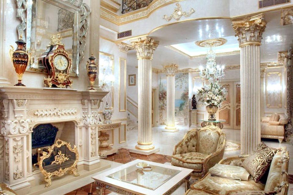 Гипсовый декор интерьера в Крыму